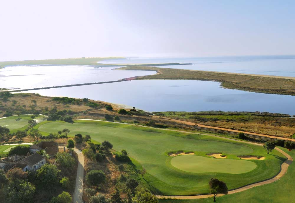 Palmares golf course arial view
